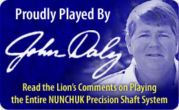 John Daly Now Plays the Entire Nunchuk Precision Golf Shaft System