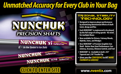 Nunchuk Precision Shafts for Drivers, Woods, Hybrid, Wedges and Irons